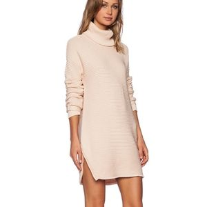 One Teaspoon Parisienne Nights sweater dress pink